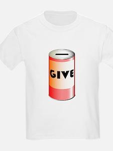 Give Tin Can T-Shirt
