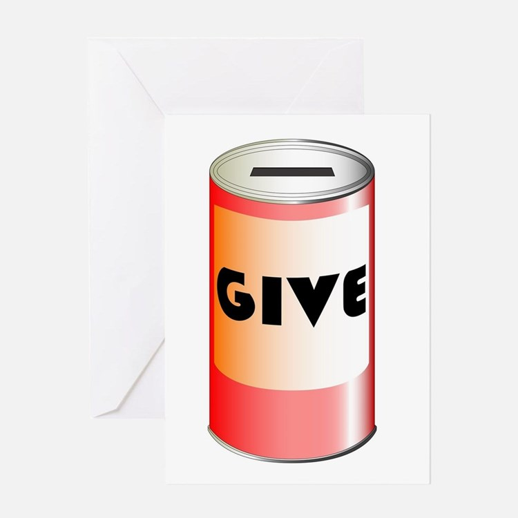 Give Tin Can Greeting Cards