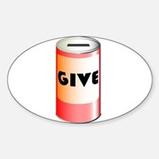 Give Tin Can Decal