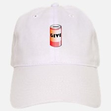 Give Tin Can Baseball Baseball Cap