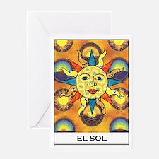 El Sol Greeting Card
