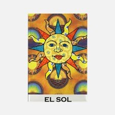 El Sol Rectangle Magnet