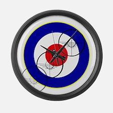 British Fighter Club Large Wall Clock