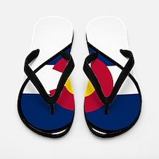 Love Colorado Flip Flops