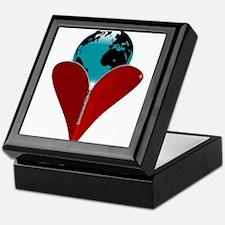 Love Earth Keepsake Box