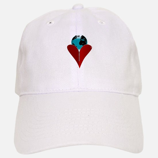 Love Earth Baseball Baseball Cap