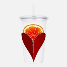 Love Fruit Acrylic Double-wall Tumbler