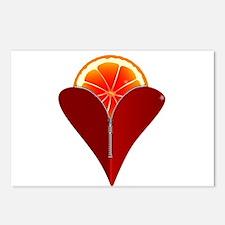 Love Fruit Postcards (Package of 8)