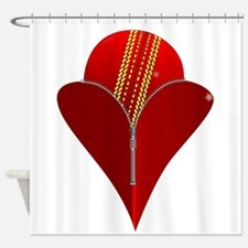 Love Cricket Shower Curtain