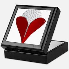 Love Golf Keepsake Box