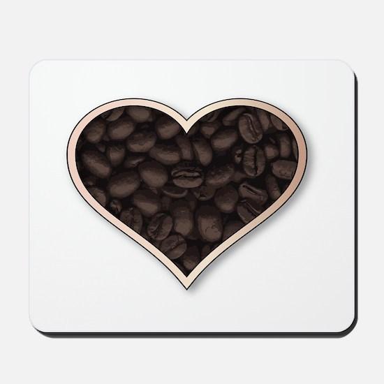 Love Coffee Mousepad