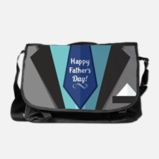 Happy Father's Day Messenger Bag