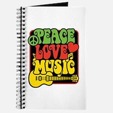 Rasta Peace Love Music Journal