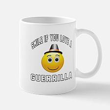 Smile If You Love Guerrilla Mug