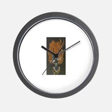 Cute Outraged Wall Clock