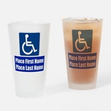 Handicapped Disabled Drinking Glass