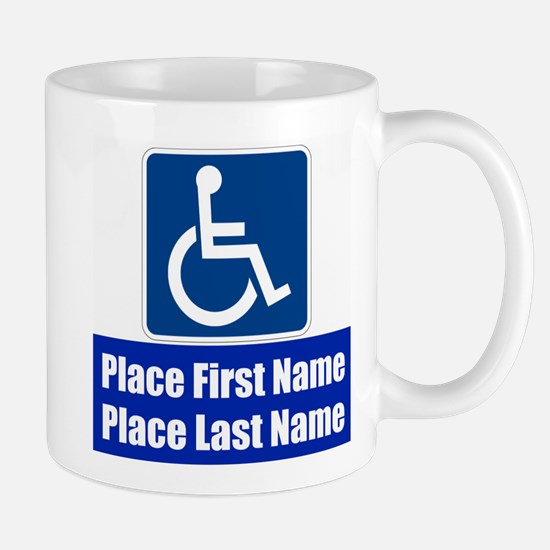 Handicapped Disabled Mugs