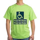Handicap Green T-Shirt