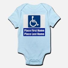Handicapped Disabled Body Suit