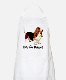 B is for Basset BBQ Apron