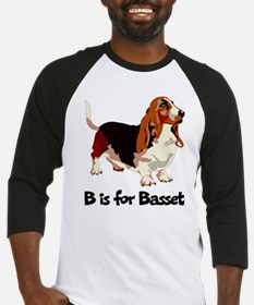 B is for Basset Baseball Jersey