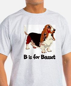 B is for Basset T-Shirt