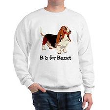 B is for Basset Sweatshirt