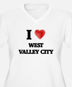 I Heart WEST VALLEY CITY Plus Size T-Shirt