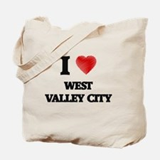 I Heart WEST VALLEY CITY Tote Bag