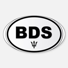 Barbados BDS Plate Decal