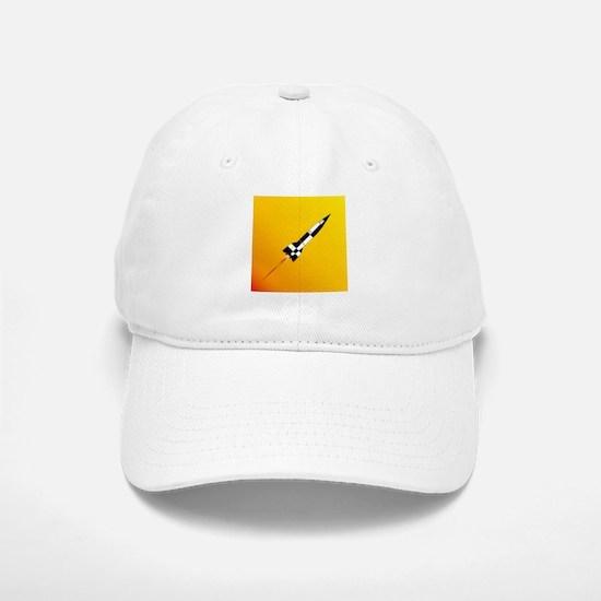 V2 Rocket Launch Baseball Baseball Cap