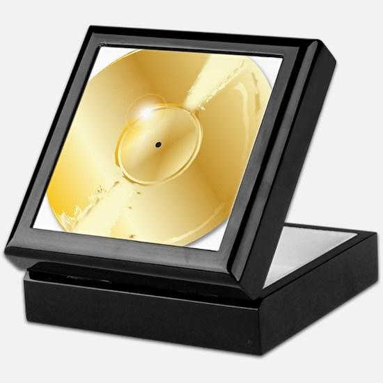Gold Record Keepsake Box