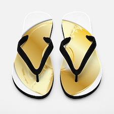 Gold Record Flip Flops