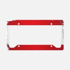 Cute Lebanese flag License Plate Holder
