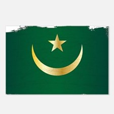 Cute Mauritania africa Postcards (Package of 8)