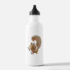 Fighting Squirrel Water Bottle