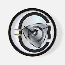 Rotary Engine Wall Clock