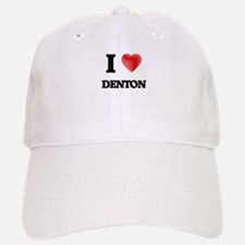 I Heart DENTON Baseball Baseball Cap