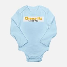 Cheez-Itz Loves You Onesie Bodysuit Body Suit
