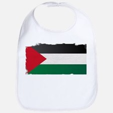 Flag of Palestine Grunge Bib
