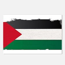 Flag of Palestine Grunge Postcards (Package of 8)