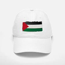 Flag of Palestine Grunge Baseball Baseball Cap