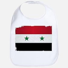 Flag of Syria Grunge Bib