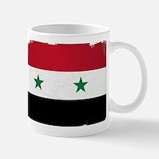 Flag of Syria Grunge Mugs