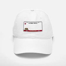 California License Plate Baseball Baseball Cap