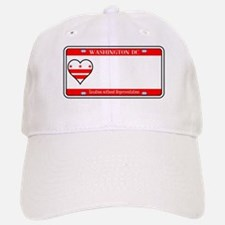 Washington DC License Plate Baseball Baseball Cap
