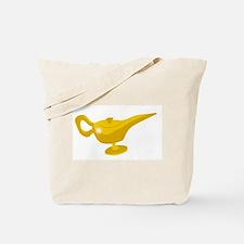 Genie Magic Lamp Tote Bag