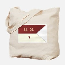 7th Cavalry Flag Tote Bag