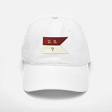 7th Cavalry Flag Baseball Baseball Cap