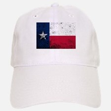Texas State Flag Grunge Baseball Baseball Cap